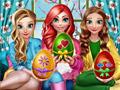 Пасхальные забавы принцесс