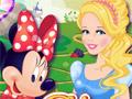 Микки и Минни в гостях у принцесс Диснея