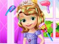Уход за волосами маленькой принцессы