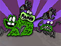 Капитан Подштанник: Лабиринт с бактериями