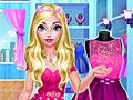 Холодное сердце: Розовое платье для Эльзы