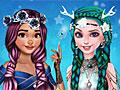 Принцессы Диснея: Прически для Эльзы и Моаны