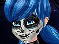 Леди Баг и Супер Кот: Фейс-арт в стиле Хэллоуин