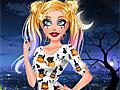Барби: Макияж на Хэллоуин