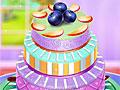 Фруктово-шоколадный торт