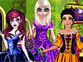Принцессы Диснея: Вечеринка в стиле Хэллоуин