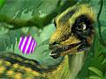 Конфетный шутер с динозавром