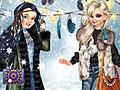 Принцессы Диснея: Зима в стиле бохо