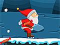 Санта на коньках