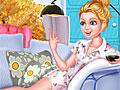 Уголок для чтения Барби