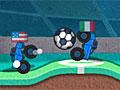 Футбол с грузовиками