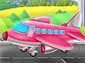Самолет на автомойке