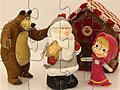 Маша и Медведь с Дедом Морозом