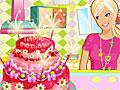 Торт на день рождения Барби