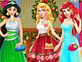 Рождественская вечеринка принцесс Диснея