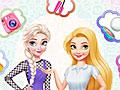 Принцессы Диснея: Мода Эльза против Рапунцель