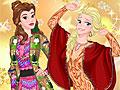 Принцессы Диснея: Обновление зимнего гардероба
