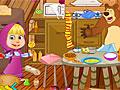 Маша и Медведь: Грязная кухня