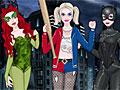 Девушки Супергерои: Клоун и друзья