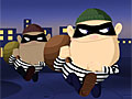 Грабители в городе