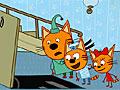 Три кота: Соберите пазл