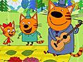 Три кота на пикнике