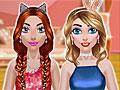 Блестящий макияж для девочек