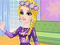 Рапунцель любит фиолетовые платья
