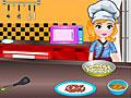 Принцесса София готовит луковую пиццу