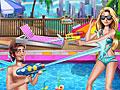 Принцессы Диснея: Вечеринка в бассейне