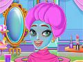 Принцесса Рапунцель в салоне красоты