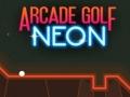 Неоновый аркадный гольф