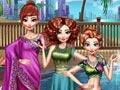 Девичья вечеринка в бассейне