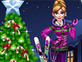 Анна готовится к Рождеству