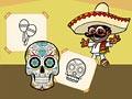 Сумасшедшая мексиканская раскраска
