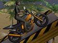 Экстремальный мотоциклист