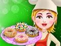 Готовить пончики