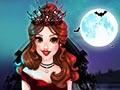 Свадебный макияж принцессы вампира