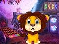 Побег львенка